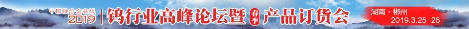 2019年郴州国际钨产品峰会