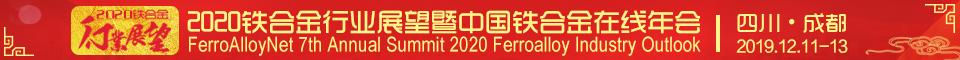 2020年行业展望暨中国铁合金在线年会