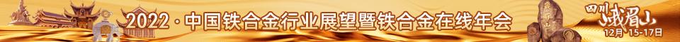2022年行业展望暨中国铁合金在线年会